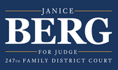 Janice Berg for Judge